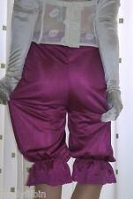 Vintage inspired Victorian~Edwardian style fuchsia bloomers~pettipants~culottes