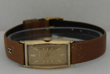 Vintage Tavannes Hand-Winding Gold Filled Silver Dial Watch