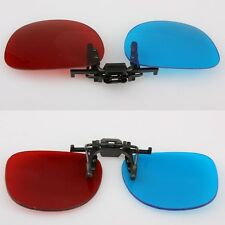 Red Blue Glasses Hanging Frame 3D 3D Glasses Myopia Special Stereo Clip Type #F8