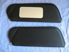 1971-73 camaro SS sun visors with mirror black perforated