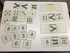 THE ALLIGATOR GAME More/Less Learning Center- MATS - Laminated Mats