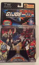 "G.I. Joe Comic Pack Capt Ace and Wild Weasel 4"" Action Figures with Comic Book"