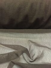 Brown Power Mesh Net 2 Way Stretch Sheer Lycra Fabric Material 160CM Width