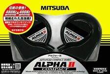 New MITSUBA Alpha II compact Car horn HOS-04 G 480Hz & 400Hz JAPAN