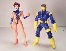 toybiz JEAN GREY vs. CYCLOPS pre-marvel X-MEN CLASSICS 2000 5in. #1994