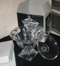 Crystal Covered Jar/bowl Royal Limited orig box Beautiful Czech Rep Crystal
