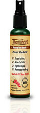 ThermaFeet Caffeinted Capsaicin Anti Itch Spray for dry itchy feet