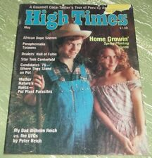 HIGH TIMES Magazine back issue #09- May 1976 Candidates '76 Where They Stand