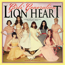 SNSD Girls' Generation - Lion Heart (5th Album) CD+Booklet+Photo card+Gift Photo