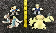 2001 Star Wars Playskool The Stompin Wampa Set Luke Han Solo Tauntaun Used