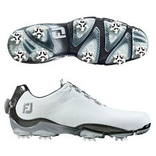 FOOTJOY D.N.A. BOA GOLF SHOES  SIZE:11 MEDIUM  WHITE/GREY  #53469  DNA  14984