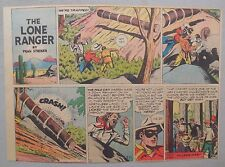 Lone Ranger Sunday Page by Fran Striker and Charles Flanders from 12/26/1943