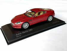 Aston Martin DB9 toro red metallic 2009 Minichamps 1:43 OVP