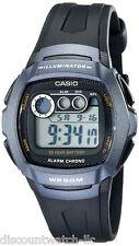 Casio W210-1B Mens 50M Digital Sports Watch Dual Time Daily Alarm Stopwatch NEW