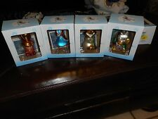 4 MIB Alice In Wonderland Mad Hatter Alice, Cheshire Cat, Card Men Ornaments