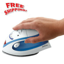 Mini Travel Iron Steam Steamer Electric Handheld Portable Clothes Garment Fabric