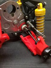 Tamiya ORV Blackfoot, Monster Beetle, Frog, Mud Blaster Rear Suspension, RED