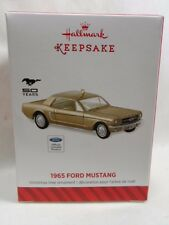 2014 Hallmark Keepsake Ornament 1965 Ford Mustang Loc B46