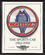 AC COBRA LE SPORTS CAR 1962-1969 COLLEZIONISTI CARDS - 260 289 427 DAYTONA SHELBY