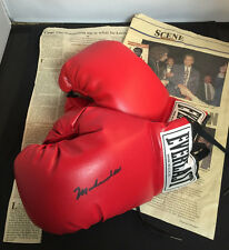 Controversial 1994 Event • Muhammad Ali Autographed Everlast Boxing Gloves w/COA