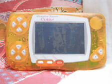 """Wonderswan Color Console"" Bandai Clear Orange WS Japan sn0100236471"