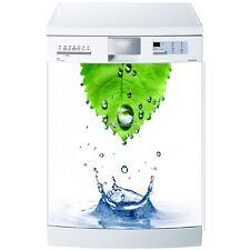 Magnet lave vaisselle Feuille et eau 60x60cm réf 583 583