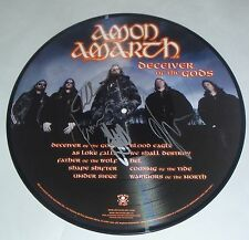 Amon Amarth Signed New Deceiver of the Gods Picture Disc LP Album W/ PIC PROOF