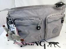 New w Tag Kipling Coralie Crossbody bag Slate Grey