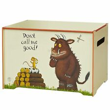 GRUFFALO MDF TOY BOX NEW OFFICIAL BEDROOM FURNITURE STORAGE