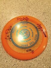 Disc Golf Very Rare  Innova Meet The Pros 2008 Autographed By 4 PDGA Pros