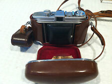 VINTAGE Kodak RETINA 1b Camera w/ PRAZISA Range Finder & Original Case