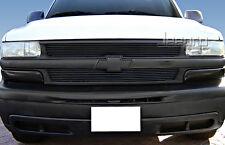 99-02 Chevy Silverado 1500/00-06 Tahoe/Suburban 2PC Bolton Black Billet Grille
