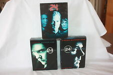 20 DVD COMPLETE SEASONS 1 2 AND 3 KIEFER SUTHERLAND 24 BOXED