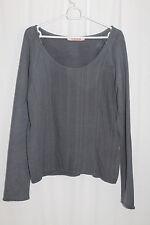 cocon.commerz PRIVATSACHEN TOGOTT Shirt  aus HANFSWEAT in grau   Größe 2