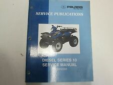 2001 Polaris Diesel Series 10 Service Repair Manual Service Publications STAINED