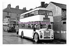 gw0011 - Doncaster Bus 1157C at Sheffield in 1961 - photograph