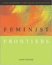 Feminist Frontiers, Whittier, Nancy, Taylor, Verta, Richardson, Laurel, Good Boo