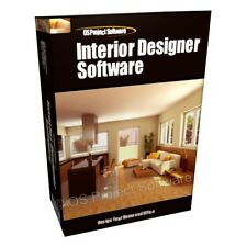 Interior Design Home Designer 2D 3D Computer Software Program