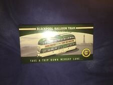 RARE ATLAS EDITIONS 1/76 CLASSIC BLACKPOOL BALLOON TRAM MODEL BUS