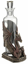 Red Dragon Spirit Decanter wine holder Home decor wine accessory dragon statue