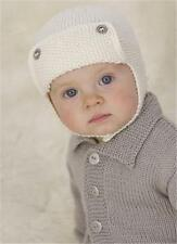 BABY KNITTING  Pattern for baby hats boys and girls birth / 2 yrs  dk