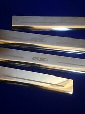 Vectra B GSi 95-02 Door Sills Stainless Steel Etched Logo Inc Fixings