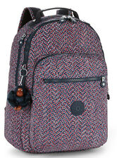 Kipling Clas Seoul Large Backpack In Mini Geo BNWT £84