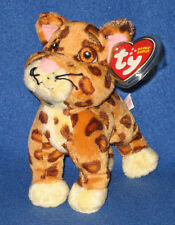 TY BABY JAGUAR BEANIE BABY (GO DIEGO GO) - MINT with MINT TAGS