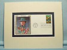 Juliette Lowe and the Girl Scouts and First Day Cover for its 75th Anniversary