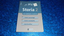 STORIA 2:ETà MEDIEVALE E MODERNA.GLI SPILLI ALPHA TEST.SINTESI.2009 OTTIMALE!!
