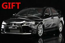 Car Model Mitsubishi Lancer EVO-X (Black) Left 1:18 + SMALL GIFT!!!!!!!!!!!