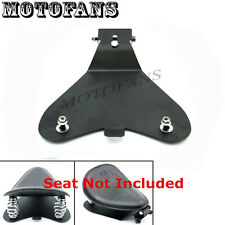 Black Motorcycle Solo Seat Baseplate Bracket For Harley Sportster XL 883 XL 1200