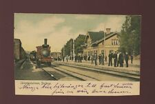 Sweden BORLANGE Jarnvagsstationen Railway Station c1902 u/b PPC slight cut down