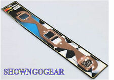 EXHAUST GASKETS SQUARE PORT SBC CHEV 327 350 400 COPPER EXTRACTORS ZOOMIES DRAG